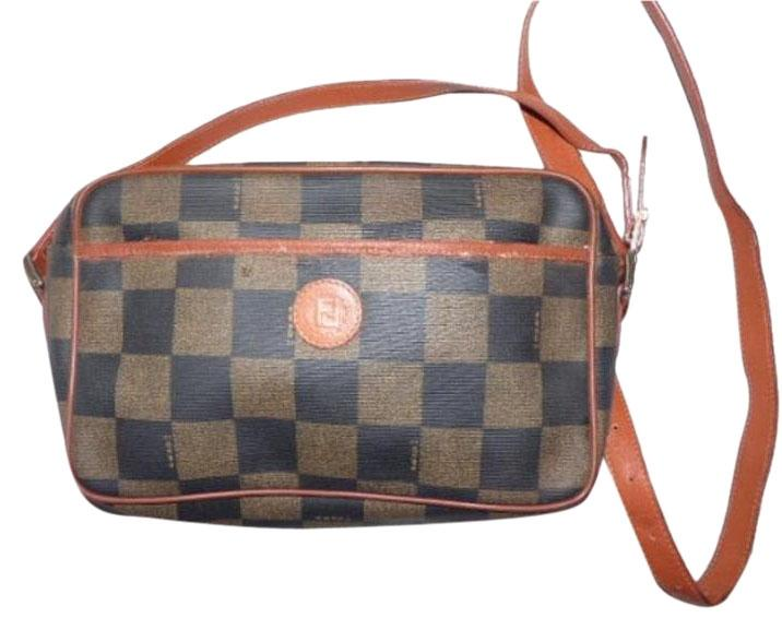 920c9d874ee2 ... bags fendi e9c80 9324d cheap fendi exterior pocket gold hardware  checkerboard classic style cross body bag cf550 ade7a ...