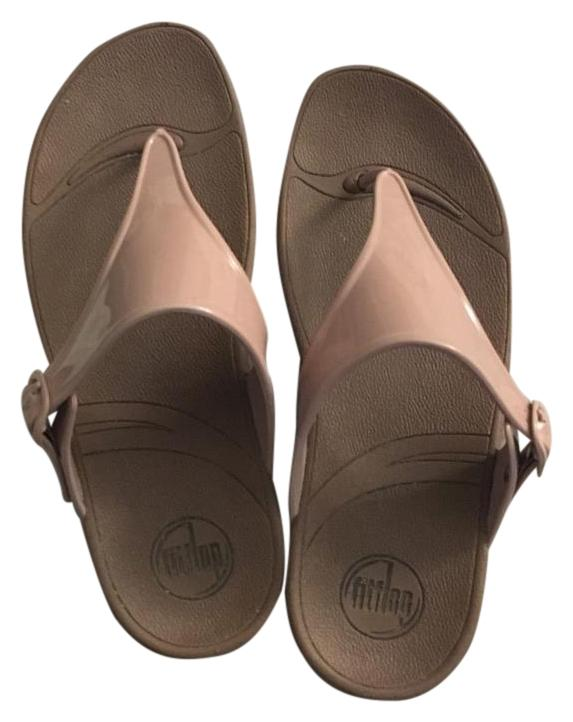 e51905fa1 FitFlop FitFlop FitFlop Nude Adjustable Sandals Size US 9 Regular (M ...