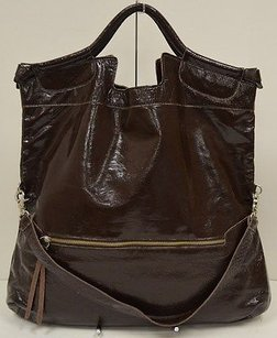 Foley + Corinna Corina Brown Shiny Tote in Browns