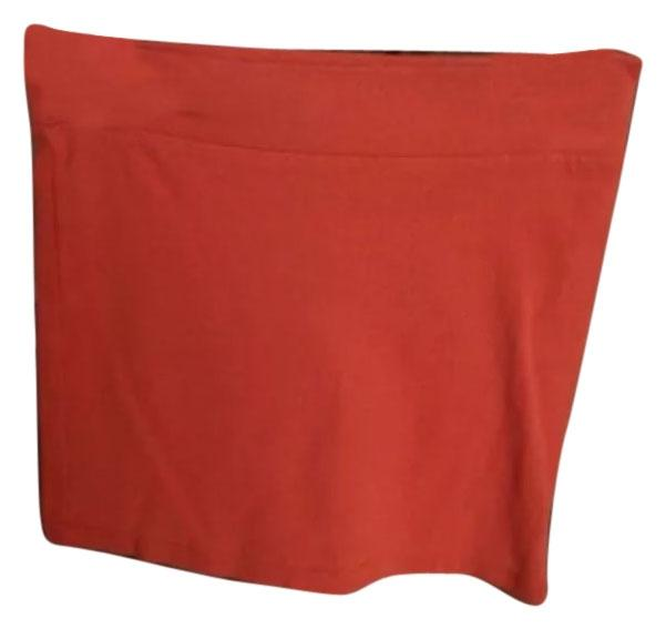 Forever 21 burnt orange miniskirt