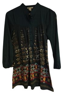 Forever 21 Green Blouse Green Tunic