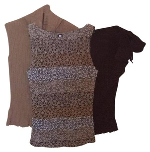Forever 21 Top Brown/Tan