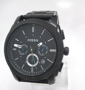 Fossil Fossil Chronograph Black Ion-plated Mens Watch Fs4552 Doesnt Work