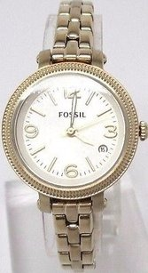 Fossil Fossil Mini Heather Gold Tone Womens Watch Es3194 Visible Signs Of Wear