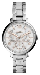 Fossil New! Jacqueline White Dial Ladies Multifunction Watch