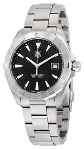 TAG Heuer TAG HEUER Aquaracer Black Dial Stainless Steel Men's Watch THWAY1110BA0928