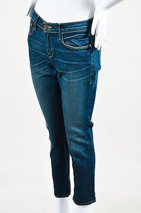 Frame Denim Roxbury Dark Boyfriend Cut Jeans