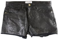 Frame Denim Casual Shorts Black
