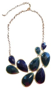 franchescas's Green & Navy Statement Necklace