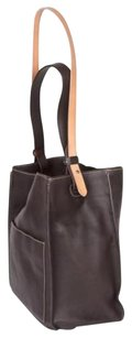 Fratelli Rossetti America Leather Bucket Tote in Brown