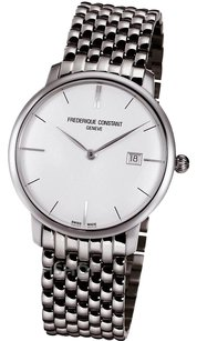 Frdrique Constant Frederique Constant SlimLine all silver! Date! Never worn! Brand new