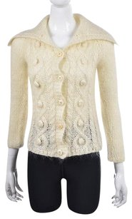 Free People People Womens Cardigan Mohair Jacket Sweater