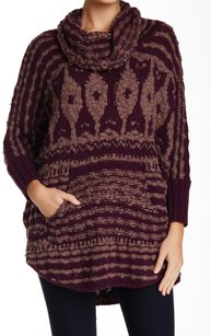 Free People Cotton Blends Long Sleeve Sweater