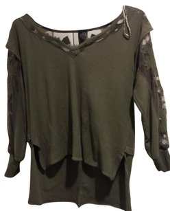 Free People T Shirt Dark Green