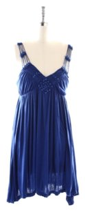 Free People short dress Royal Blue on Tradesy