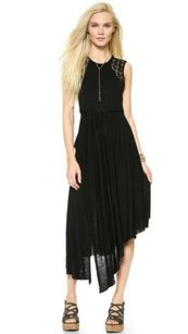 Black Maxi Dress by Free People Afternoon Delight