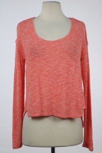 Free People We The Womens Coral Sweater
