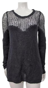 Free People People Long Sleeve Crochet Open Knit Sp Sweater