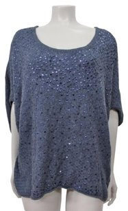 Free People Sequins Knit Sweater