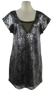 Free People Womens Sequined Dress