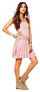 Free People short dress Blush Slip on Tradesy