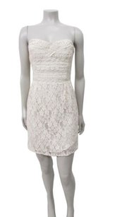 Free People People Heart Strapless Lace Ivory Dress