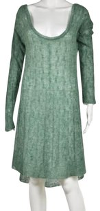 Free People short dress Green Womens Speckled on Tradesy