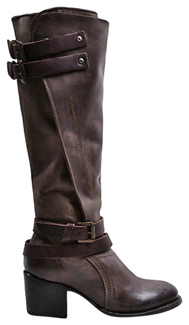 FreeBird Clive Sale Clive Multi Calf High Size 8 Brown Boots ...