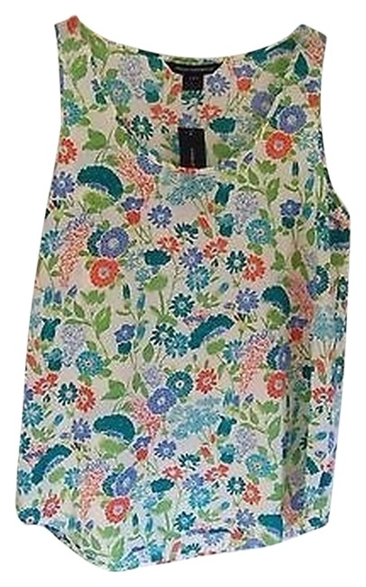 Preload https://item5.tradesy.com/images/french-connection-floral-printed-tank-topcami-size-8-m-1306009-0-0.jpg?width=400&height=650