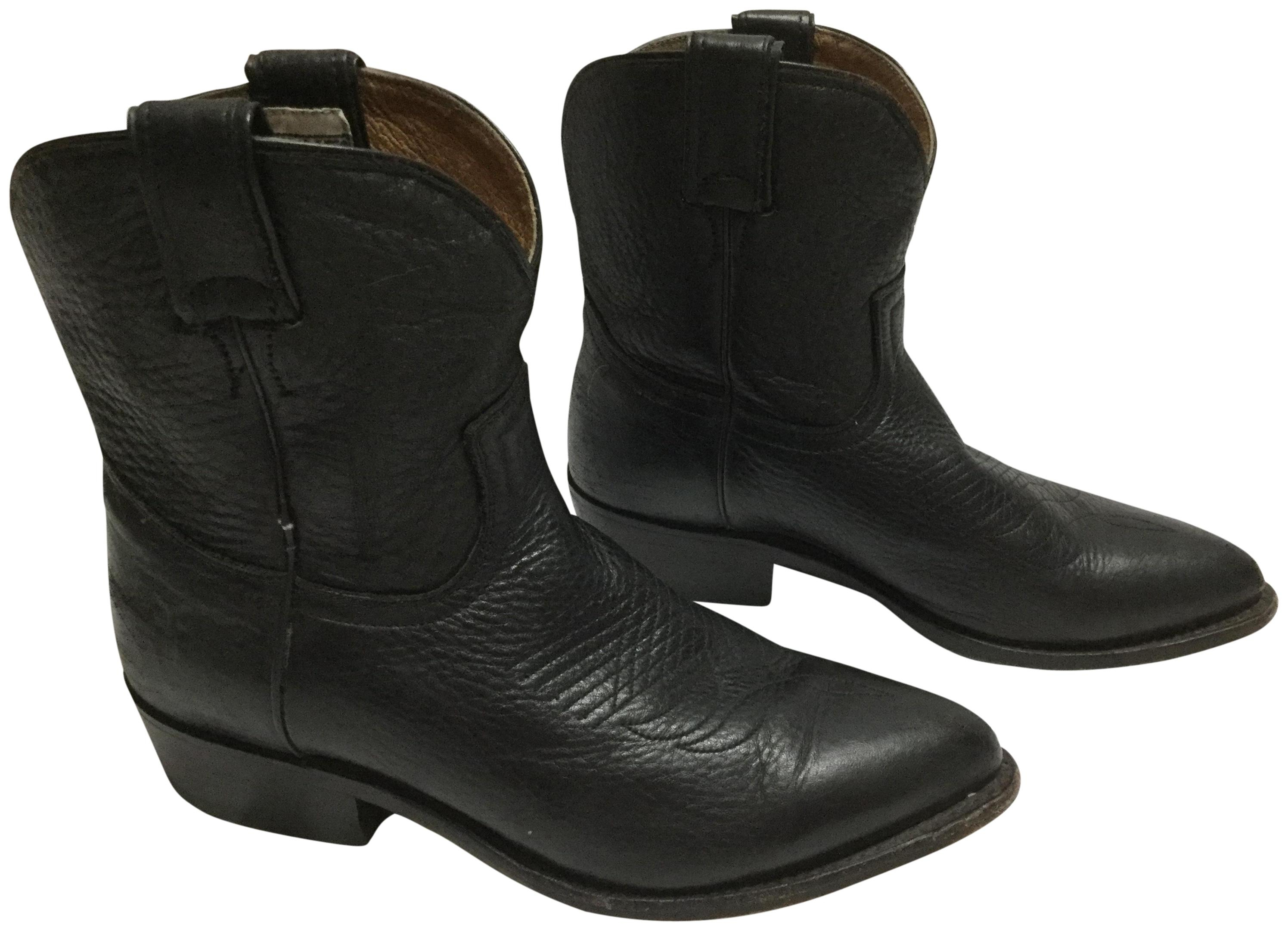 Frye Black Billy Boots/Booties (M, Size US 7.5 Regular (M, Boots/Booties B) 5e82a0