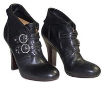 Frye Leather Matilda Round Toe Ankle Hs302 Black Boots