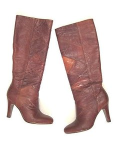 Frye Ava Tall Heel Browns Boots