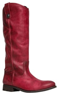 Frye Red Boots