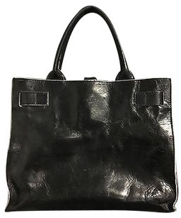 Furla Leather Structured Belted Detail B3603 Shoulder Bag