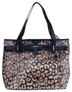 Furla Tote in Brown And Black