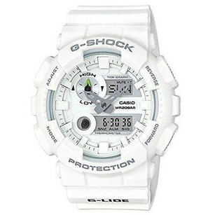 G-Shock Gax100a-7a G-shock Watch G-lide Tide Series All White World Time Digital-ana