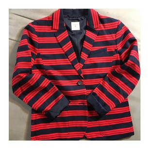 Gap Red/Navy Blazer