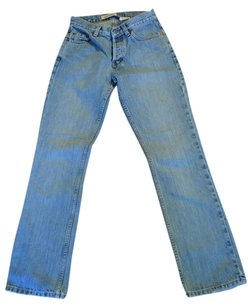 Gap Small Women's Button Fly Boot Cut Jeans-Light Wash