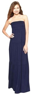 navy blue Maxi Dress by Gap Strapless