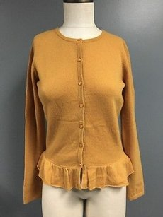 Garnet Hill Mustard Sweater