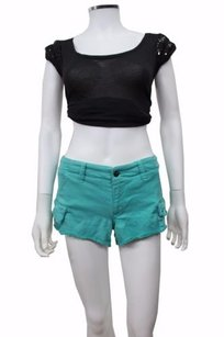 Genetic Denim The Cargo Shorts Bright teal