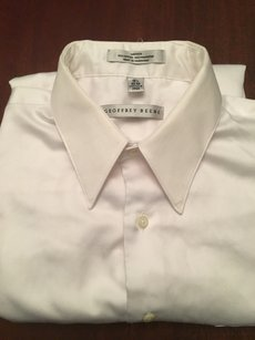 Geoffrey Beene Wrinkles Free Sateen Dress Shirt