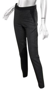 GERARD DAREL Darel Womens Wool Motorcycle Legging Slacks Trousers Pants