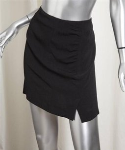 GERARD DAREL Crepe Mini Skirt Black