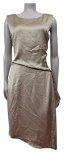 GERARD DAREL short dress Taupe Shift on Tradesy