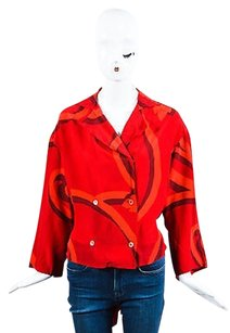 Gianfranco Ferre Vintage Top Red