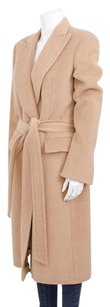 Gianfranco Ferre Tan Camel Trench Coat