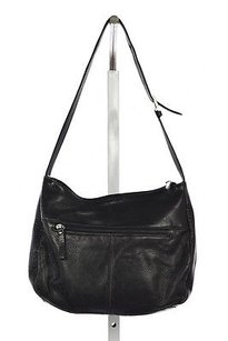 Giani Bernini Womens Textured Leather Handbags Shoulder Bag