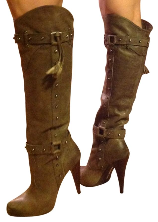 best cheap online visit new cheap online Fendi Distressed Leather Boots cheap low cost LdpBGyU