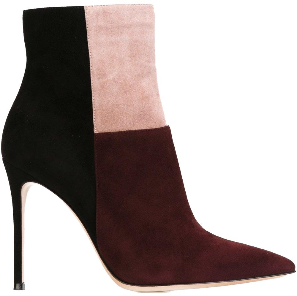 Gianvito Rossi Geneva Colorblock Ankle Boots explore cheap price clearance good selling hot sale cheap online low price fee shipping cheap price discount free shipping QTHQbdw